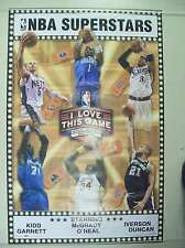 I LOVE THIS GAME BASKETBALL KIDD, GARNETT, MCGRADY, O'NEAL IVERSON, DUNCAN- sale
