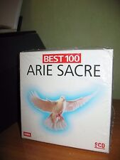ARIE SACRE BEST 100 COFANETTO 6 CD NUOVO MOZART BACH