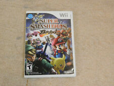 Super Smash Bros. Brawl (Nintendo Wii, 2008) Complete with Manual