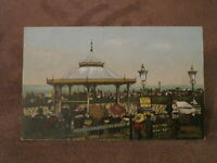 Early Kent Postcard - Bandstand - Cliftonville Margate
