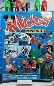 Disney Micky,  Mickey Maandblad Großbrand Nr. 11   1.Auflage  11.1983 Disneyana