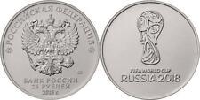 50 monedas Russia 25 rublos 1 serie  2018 FIFA World Cup Russia    Russland