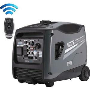 Pulsar 4,500 Watts Portable Inverter Generator w/ Electric & Remote Start G450RN