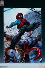 Ultimate Spider-Man Miles Morales Aluminum Metal Variant Print #26/50 Sideshow