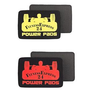 1 Paar FitnessExpress24 Pads Powerpads Zughilfen Griffpolster Griffhilfen NEU