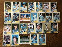 1981 SEATTLE MARINERS Topps COMPLETE Baseball Team Set 26 Cards HONEYCUTT BOCHTE