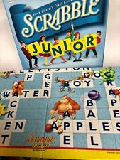 Scrabble Junior Ages 5+ By Milton Bradley Hasbro Crossword 1999 Preowned Game