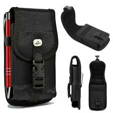 NEW For OnePlus 7 Pro Rugged Heavy Duty Buckle Nylon Pouch Belt Clip Loop Black