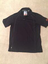 Tommy Bahama Baltimore Orioles Black Polo Short Sleeve Shirt Size S