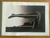 PHOTO ANCIENNE L'aboutissement de la recherche Francis Giacobetti 24X34 cm TBE