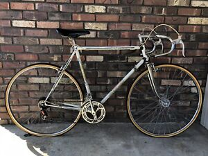 VINTAGE 1970 FRANCHE-COMTE JEUNET WHITE FRENCH ROAD BICYCLE