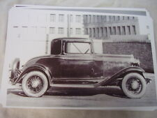 1932 CHEVROLET  3 WINDOW 11 X 17  PHOTO PICTURE