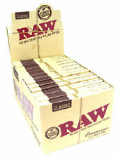 RAW Classic Connoisseur Rolling Papers 1 1/4 (1.25) Full Box