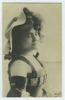 c 1903 Sexy Young Lady CHERRY ALLURE LADY Pretty Woman photo postcard