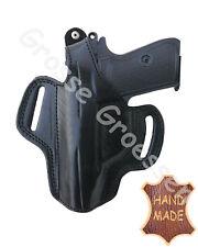 Etuis pistolets Universel Gaucher F. kl. 9/7,65 mm-Cuir-travail manuel