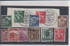 3. Reich Briefmarken Konvolut Sammlung 22 Stück WWII Berlin 1938