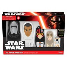 Star Wars Episode VII Nesting Dolls Kylo Ren, Finn, Poe, Rey, and BB-8 NEW