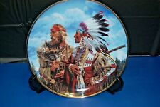 In The Beginning. Friends Franklin Mint American Indian Heritage Plate Coa