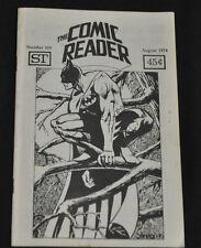 THE COMIC READER #109 INCREDIBLE HULK 181F-VF  RARE FANZINE!