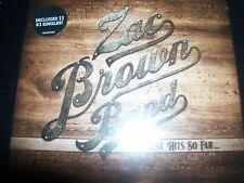ZAC BROWN BAND Greatest Hits So Far... (Australia) Digipak CD – New