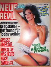 Neue Revue Nr 8/1989, Mario Adorf, Carlo von Tiedemann, Brigitte Stern,