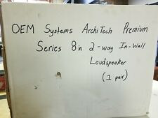 OEM systems archi Tech Premium Series 8in 2-way In-Wall Speakers