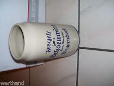 Steinkrug Bierkrug Festzelt zum Ochsenwirt Deggendorf Tauscher Arco Bräu 1 Liter
