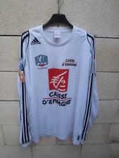 Maillot SCO ANGERS COUPE de FRANCE 2008 porté n°2 shirt ADIDAS manches longues