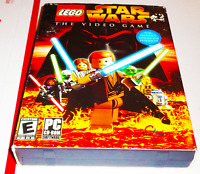 LEGO Star Wars The Video Game PC CD-ROM Complete in Box CIB Episode I II III