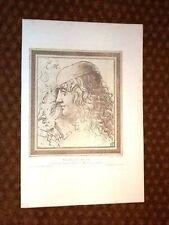 Studio di testa Etudes de tetes - Leonardo Da Vinci
