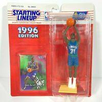 1996 NBA Starting Lineup Kevin Garnett Minnesota Timberwolves Action Figure READ