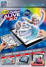 Crayola Colour Alive 2.0 (Color Alive 2.0) - Disney Frozen