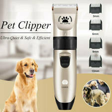 Cordless Electric Pet Dog Cats Grooming Clippers Low Noise Shaver Trimmer Kits
