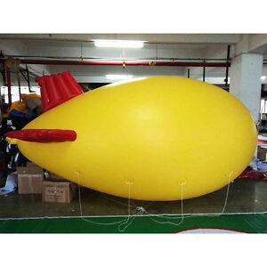 8M 26ft Giant Inflatable Helium Flying Balloon Advertising Blimp Airplain
