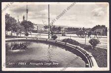 TORINO IVREA 132 DORA - CARRETTO Cartolina viaggiata 1935