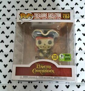 Funko Pop Treasure Skeleton 783 LE 4000 Glow GITD Emerald City Con Vinyl Figure