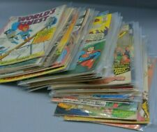 COMICS LOT OF 34 ALL ARE PICTURED Superman, Superboy, World's Finest, others.