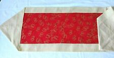 """Valentine's Day Table Runner Hearts Gold Glitter 40x12"""""""