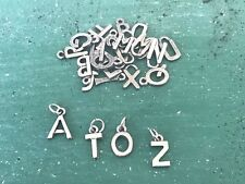 78 asst. Pieces A to Z Pewter Letters For Home, Decor, Craft Shops All New.