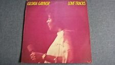 GLORIA GAYNOR - LOVE TRACKS .     LP.