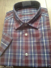 Check Collared Unbranded Fitted Casual Shirts & Tops for Men