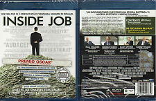 INSIDE JOB - BLU-RAY  (NUOVO SIGILLATO)
