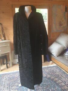 Swakara Persian lamb Black coat - Breuninger  Exquisit