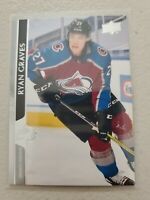 Ryan Graves 2020-21 Upper Deck Series 2 French Variation SP #300 Avalanche