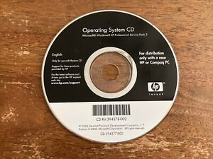 HP Compaq Windows XP SP2 Restore CD Kit 394378-002