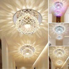 LED Deckenlampe Kristall Deckenleuchte Kronleuchter Esszimmer Wohnzimmerlampe DE