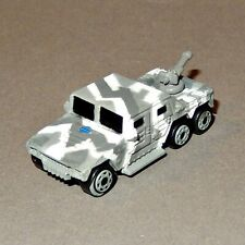 MICRO MACHINES MILITARY - TRAXXON RAIDER snow camo - GI Joe Hasbro
