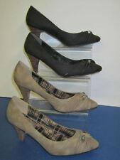 Suede Court Cuban Heels for Women