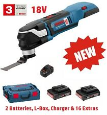 NUOVO Bosch GOP18V-28 Cordless Multi-Tool L-Boxx + EXTRA 06018B6070 3165140842617