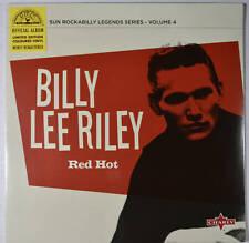 "[New] BILLY LEE RILEY - Red Hot - ROCKABILLY - 10"", 33 ⅓ RPM Red Vinyl"